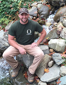 David VanLoon of Oasis Ponds & Patios is a Corning SBDC Success Story