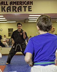John Lipari of All American Karate School is a Jamestown SBDC success story