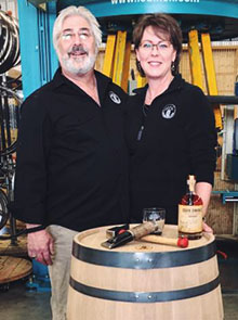 Joe & Kelly Blazosky of Adirondack Barrel Cooperage, a Mohawk Valley SBDC Success Story
