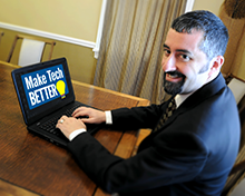 Erik Contzius of Make Tech Better is a Rockland SBDC Success Story